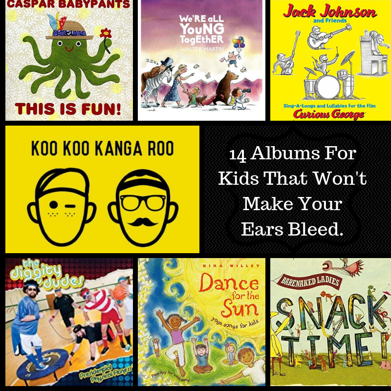 A Collection of Kids' Music That Won't Make Your Ears Bleed